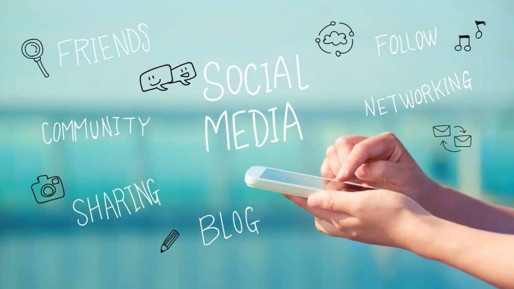 Social Media Concept Smartphone